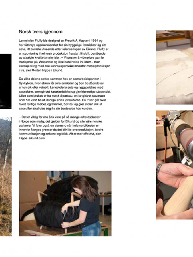 Eikund featured interior design magazine NYTT ROM