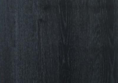 Black lacquered oak