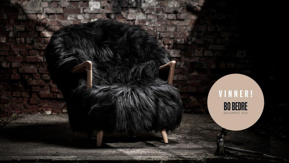 Fluffy – Winner of «Årets Relansering» (Relaunch of the year) in the Bo Bedre design awards 2020