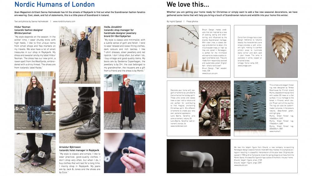 Scan Magazine loves Isbjørn