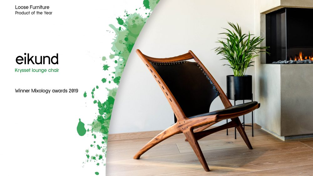 Krysset by Eikund – winner of loose furniture product of the year