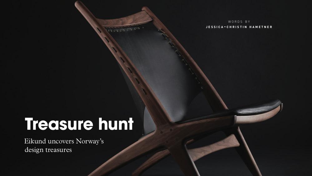 Treasure hunt – Eikund uncovers Norway's design treasures