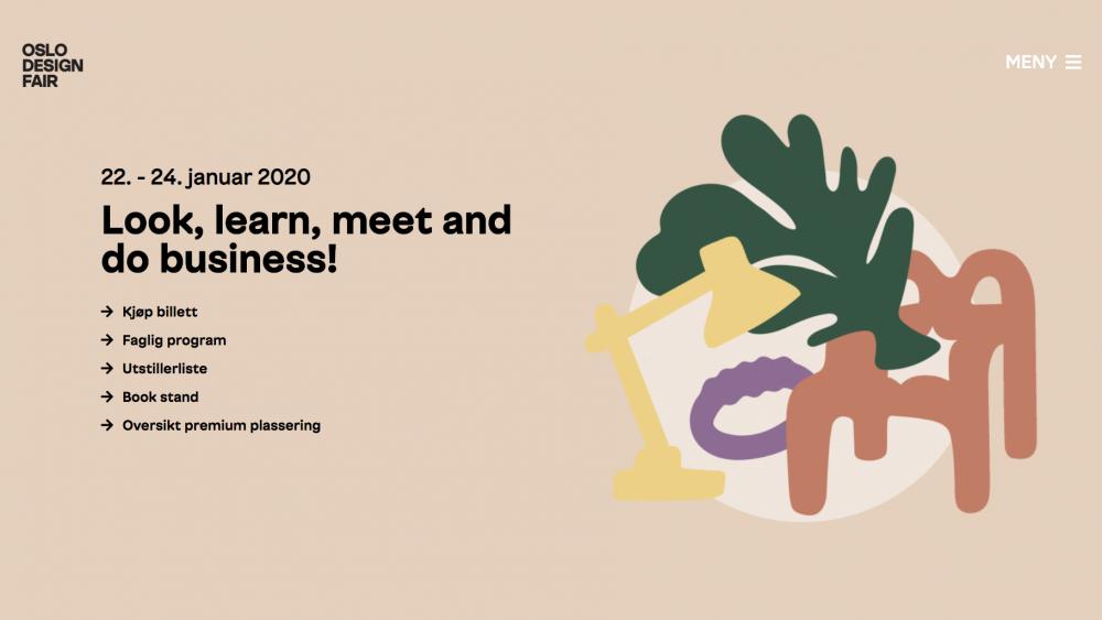 Meet us at Oslo Design Fair