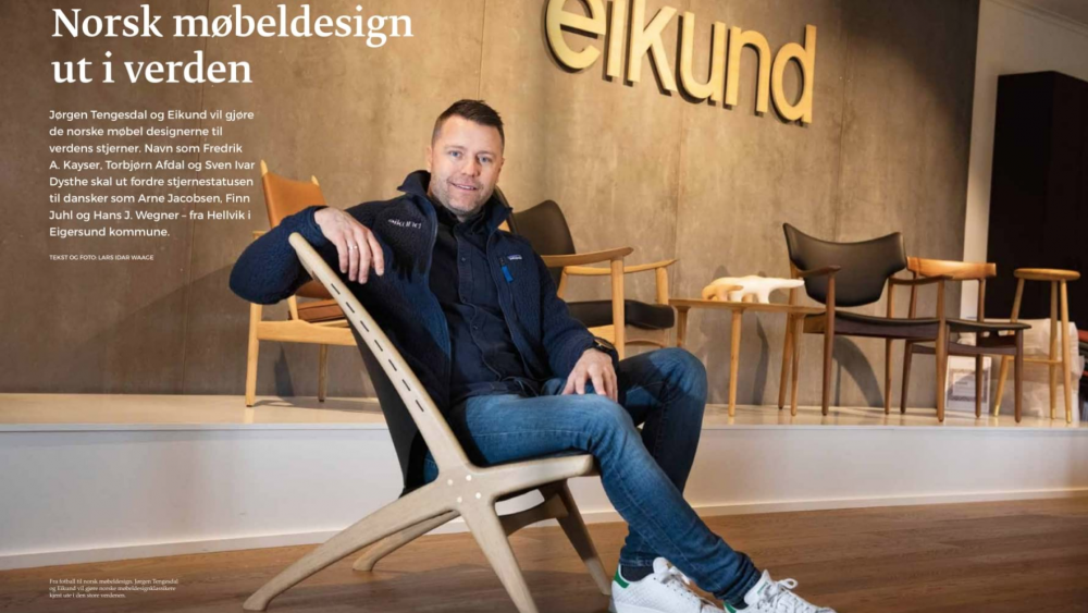 Norwegian furniture design out in the world