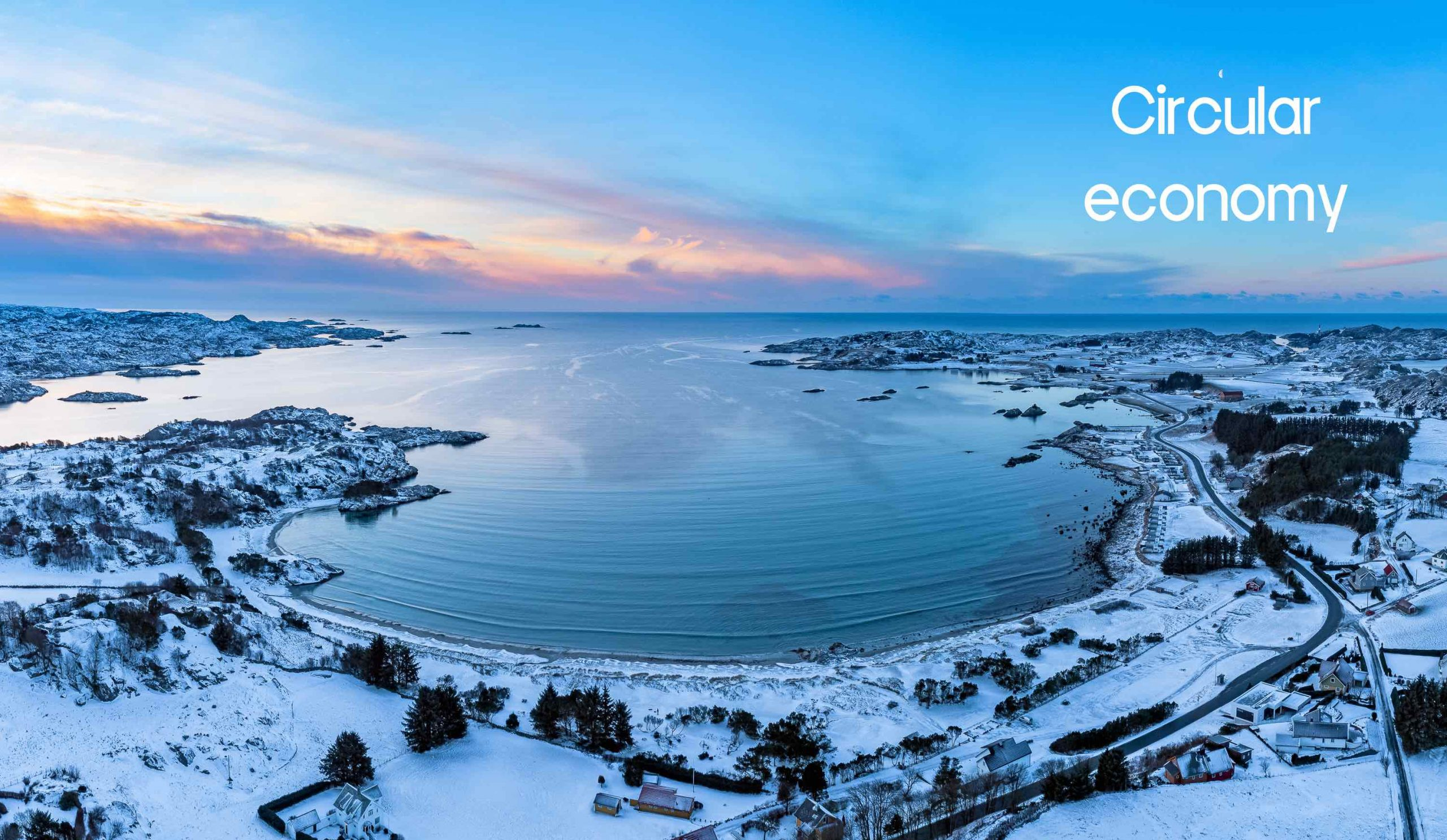 Circular economy is at the heart of what we do at Eikund.